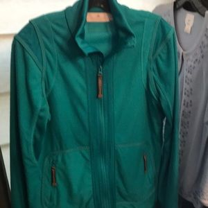 Turquoise sporty jacket by Stella